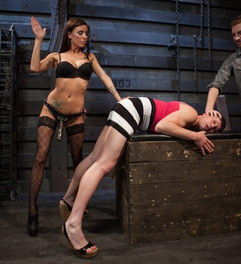 Gia DiMarco Spanking Feminization Cuckold