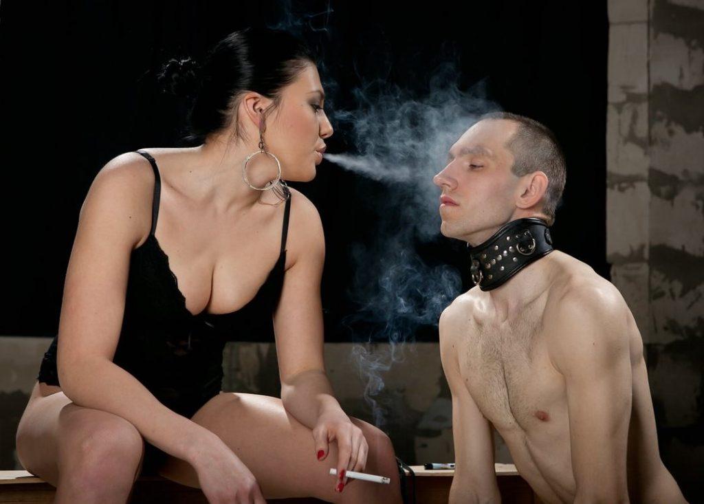 Smoking Humiliation Femdom
