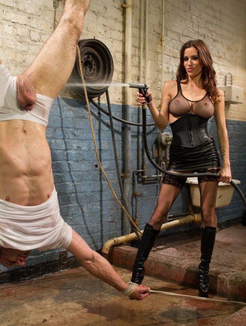 Fetish Mistress - Cold Water Torture Suspend BDSM