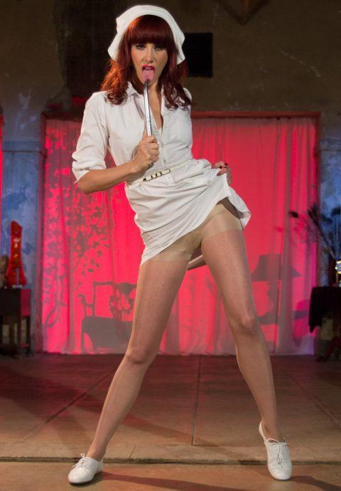 Crazy Perverted Nurse Madeline Marlove Solo