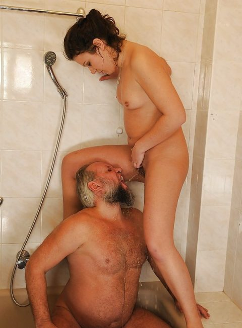 Daughter Pissing In Dad's Mouth