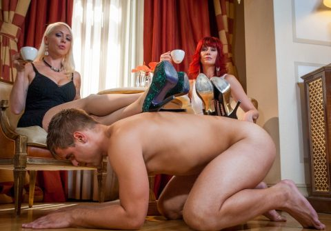 Footrest For Lorelei Lee and Madeline Marlowe