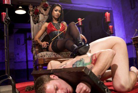 Interracial Femdom - Ebony Goddess Skin Diamond and Her Slave