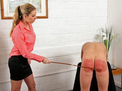 Hardcore Punishment CFNM Spanking With Cane