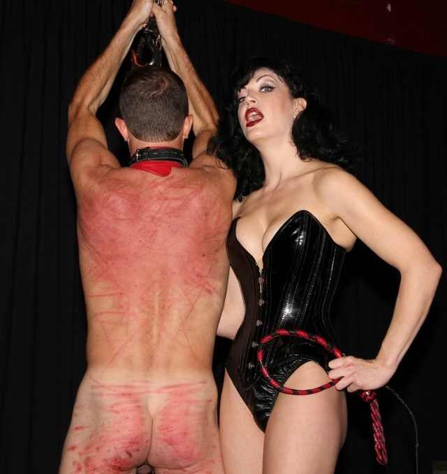 Sadistic Domme Jean Bardot In Corsete - Extreme Caning BDSM