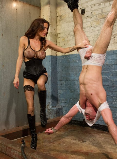 Hot Milf in Sexy Lingerie - Suspend Her Slave