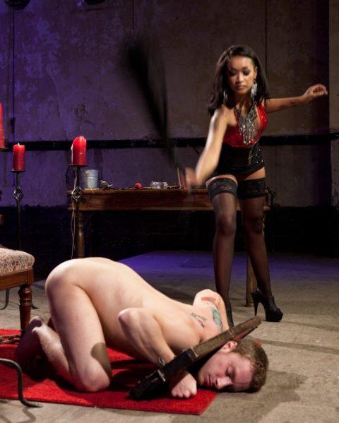 Mistress Skin Diamond - Hard Whipping Femdom BDSM