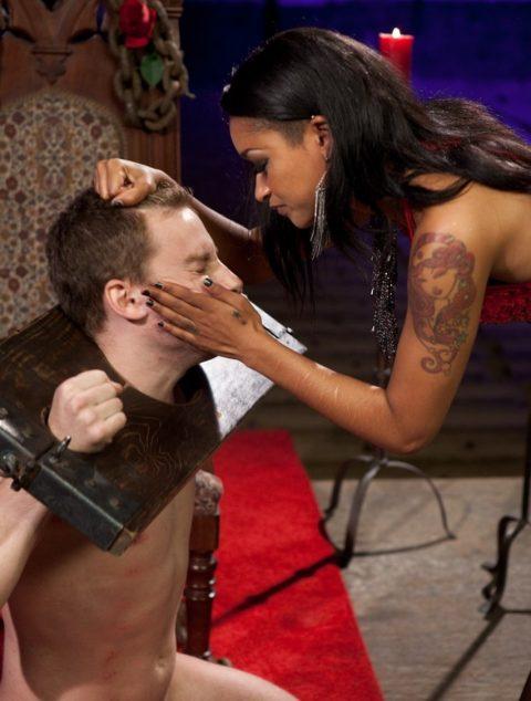 Mistress Skin Diamond Slapped Bondaged Slave
