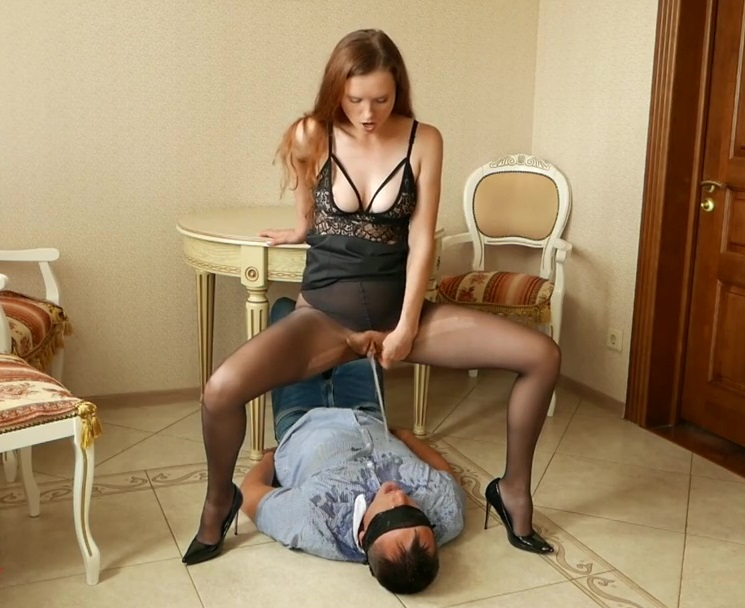 Dominant Wife Piss In Husband's Mouth