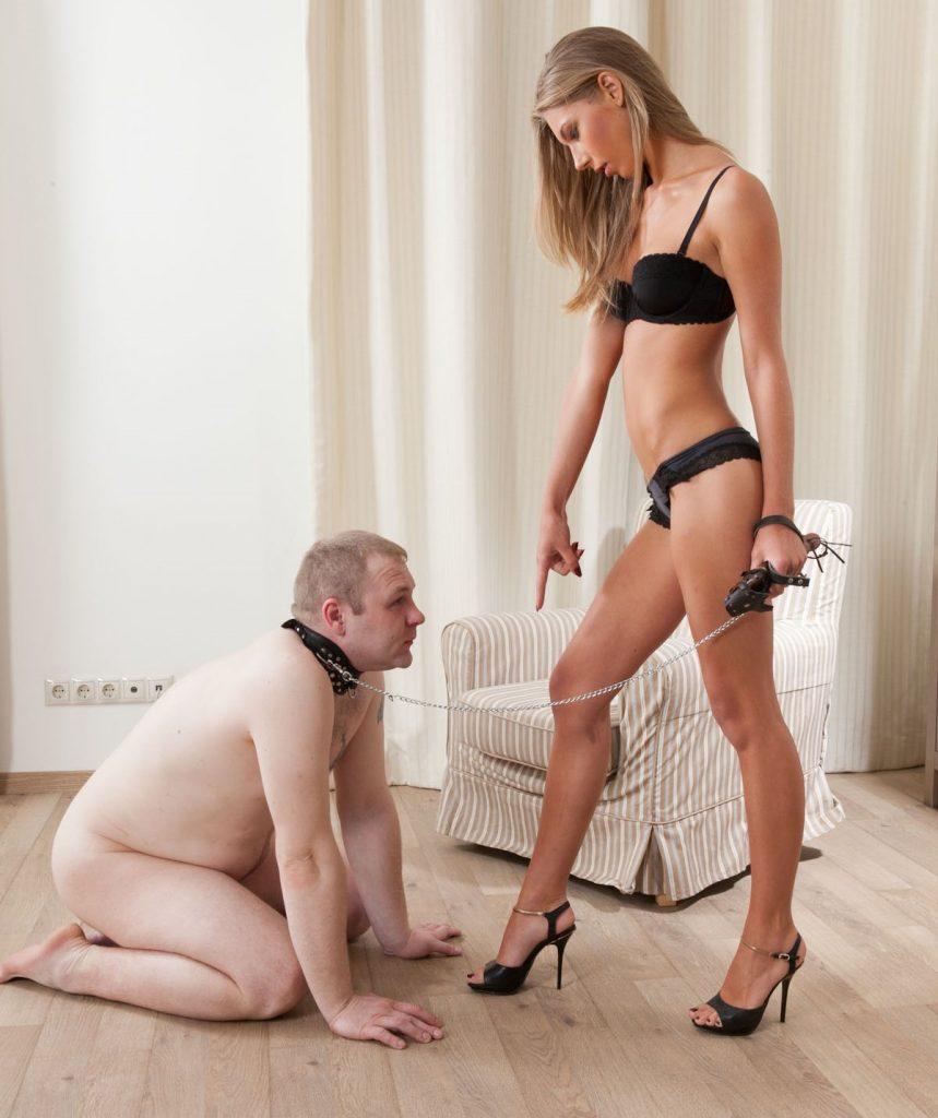 Russian Femdom Slave