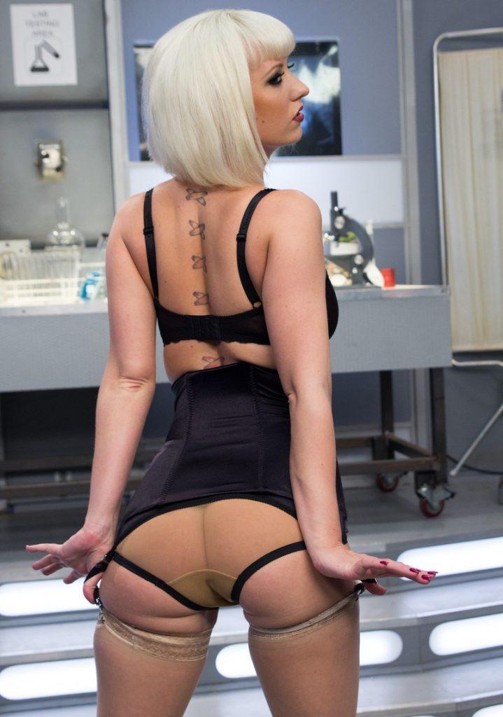 Blonde Ass Femdom