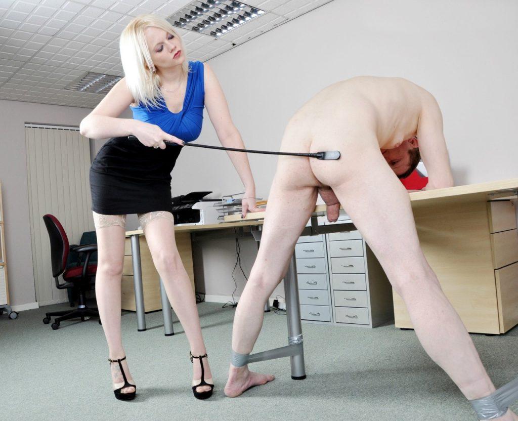 Sexy Mistress Heather Punishment Whip CFNM Female Domination