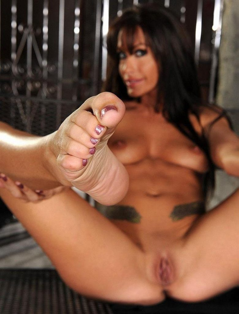 Sexy Mistress Randy Wright's Pedicured Toes POV Worship Femdom